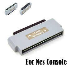 60 To 72 Pin Famicom to Nes Adapter Converter For Nintendo NES Console NTSC PAL