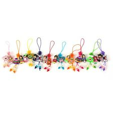 10 PCS Korean Doll Cellphone Strap Embroidery Accessory