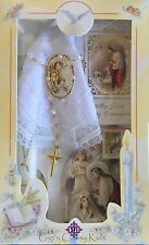 New First Holy Communion Candle Box Gift Set for Girls English Missal Rosary
