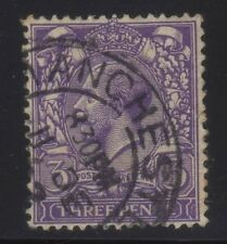 [JSC]1935 GB King George V Purple Three Pence Postage & Revenue