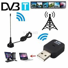 USB DVB-T Digital TV Recepteur Tuner Dongle MPEG-2 MPEG-4 + Antenne Pr Laptop PC