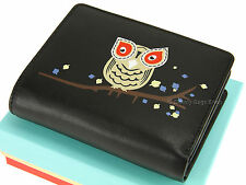Visconti Ladies Compact Leather Purse Wallet For Cards Coins Notes - OL70 Black