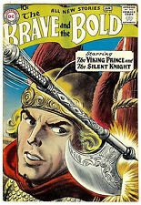 The Brave and the Bold #21 (DC 1958, vf- 7.5) guide value: $252.00 (£165.00)