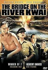 THE BRIDGE ON THE RIVER KWAI (DVD, 2000) WILLIAM HOLDEN ALEC GUINNESS