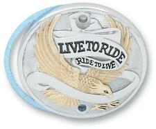 Live to Ride Points Cover Gold Harley XLH900/1000 XLCH XL1200C 30-0152EA