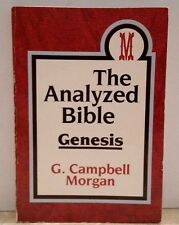 THE ANALYZED BIBLE GENESIS C Campbell Morgan VERY GOOD BOOK EBAY BEST PRICE!