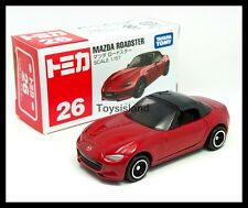 TOMICA #26 MAZDA ROADSTER MX-5 1/57 TOMY 2016 FEBRUARY NEW MODEL RED