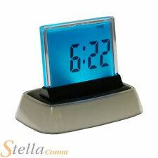 Colour LED Changing Digital Alarm Clock Thermometer Date Time Night Light