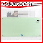 SLIMLINE GLASS PANEL HEATER 2000w TOUCH CONTROL WALL MOUNT / PORTABLE FIREPLACE