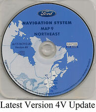 03 04 05 06 Ford Expedition Navigation Map Cover VT ME NH MA RI CT Partial NY NJ