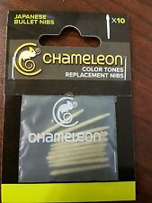 Chameleon pens replacement bullet nibs