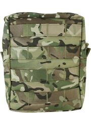BTP/MTP Compatible Camouflage MOLLE Large Zipped Army Utility Webbing Pouch RAF
