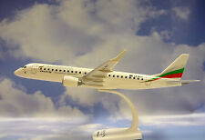 Herpa Wings 1:100 SNAP FIT Embraer ERJ-190  Bulgaria Air LZ-BFF  609258