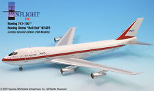 InFlight200 Boeing Rollout Livery N7470 Boeing 747-100 1:200 Scale Diecast New