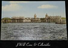 Old Postcard Of Naval College From The River Greenwich