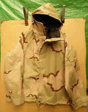 GENUINE U.S ARMY DESERT TRI-COLOUR CAMOUFLAGE NBC JACKET -LARGE/LONG
