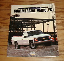 Original 1998 Chevrolet Commercial Vehicles Sales Brochure 98 Chevy Pickup Van