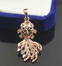 Jewelry Fashion 18K yellow gold filled fish Pendant gift K57