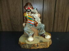 Ron Lee clown statue figurine Carl With Pal 79/80 style 486 large signed