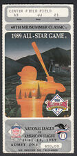 MLB All Star Game Ticket Stub 1989 California Angels