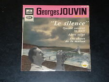 45 tours EP - Georges JOUVIN - LE SILENCE - ANNEES 1960