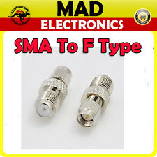 Quality SMA Male to F type Female Converter Connector Adapter suit for Antenna