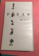 Pixar Toy Story ABC Treats Rare  Promotional VHS Toy Story Disney Shorts