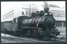 RQ72d JUOSLAVIA JZ steam locomotive 85.004 at Sarajevo Novo 26/5/63 Bosnia