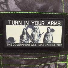 Tactical Outfitters - TURN IN YOUR ARMS MORALE PATCH