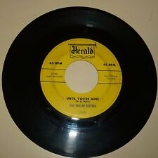 VOCAL GROUP 45RPM RECORD - THE MILLER SISTERS - HERALD 455