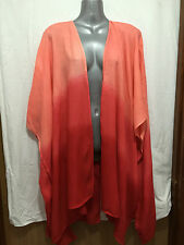 BNWT Womens Sz 20-22 Autograph Brand Blood Orange Kimono Style Jacket RRP $70