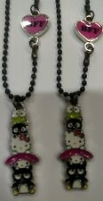 Hello Kitty 40th Anniversary BFF Necklace Keroppi Badtz Maru My Melody NWT