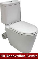 Modern Style GEMINI Close Coupled Skew Toilet Suite Bathroom Skew PAN Bowl