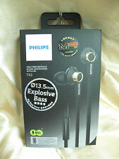 Philips TX2 Black In-Ear High Precision Sound Headphone Headset Earphone Mic