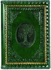 TREE OF VALINOR GREEN GILT EMBOSSED LEATHER JOURNAL Tolkien LORD OF THE RINGS