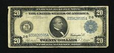Fr.970 1914 $20 FEDERAL RESERVE NOTE FINE...