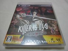 Brand New PS3 KILLER IS DEAD PREMIUM EDITION. Japanese Version. 7-14 Days to USA