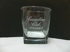 Canadian Club Whisky Rocks Glass Tumbler