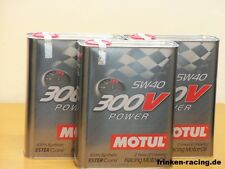 13,95 €/L MOTUL 300v power sae 5w - 40 3 x 2 L racing oil