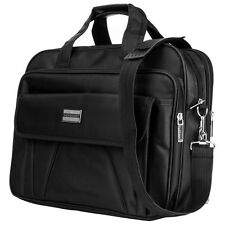 Black Vangoddy Nylon Shoulder Travel Bag for Apple MacBook Pro 15.4-Inch Laptop