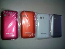 Samsung Galaxy Y Original Battery Housing 4pcs-Pink,Orange,White,Grey+Free PN999