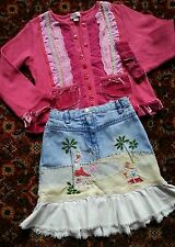 MONSOON skirt and cardigan top age 4-6