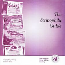 Book, The Scripophily Guide by Howard Shakespeare (stocks and bonds)
