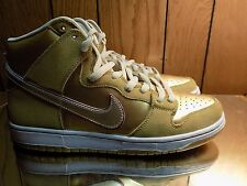 NIKE DUNK HIGH PREMIUM SB KOSTON THAI TEMPLE METALLIC GOLD Size 11