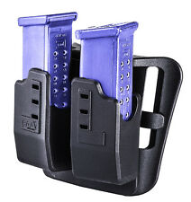 DMP CAA Tactical Double Magzine Carrier for Glock 9mm & .40 cal Made of Polymer