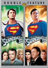 Superman III/Superman IV (DVD, 2013, 2-Disc Set) Movies 3 & 4