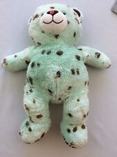 BUILD A BEAR MINT CHOCOLATE CHIP ICE CREAM BEAR Washed Ready To Love Do