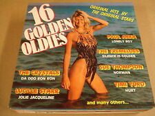 LP WITH SEXY GIRL ON COVER / 16 GOLDEN OLDIES
