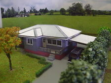 HO scale Australian 1950's style house (KIT) Vetties House