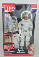 2002 HASBRO GI JOE HISTORICAL EDITIONS LIFE MAGAZINE APOLLO MOON LANDING NEW